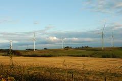 A92 Wind Farm Stock Image