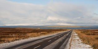 A99 a estrada a mais dangrous em Grâ Bretanha Fotografia de Stock Royalty Free