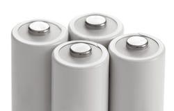 AA电池累加器 免版税图库摄影
