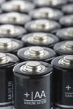 AA Akaline Batteries close-up Royalty Free Stock Photography
