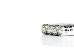 AA bateria Obrazy Stock