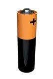 AA bateria na bielu Obrazy Royalty Free