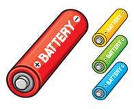 AA baterie Zdjęcia Stock