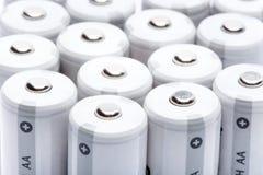 aa baterii palca rozmiaru typ Zdjęcie Royalty Free