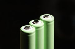 aa-batteri Royaltyfri Foto