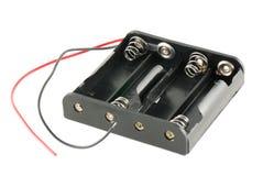 AA-Batteriekasten Stockbilder