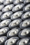 AA-Batterienahaufnahme Lizenzfreies Stockfoto