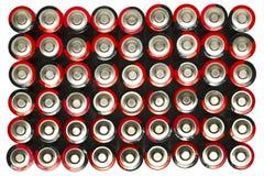 aa-batterier Royaltyfri Bild