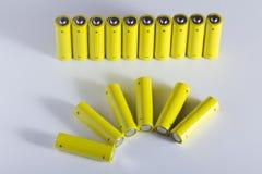 AA batteries Stock Photography