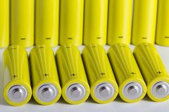 AA batteries Royalty Free Stock Photography