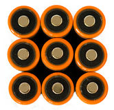 AA batteries Stock Photography