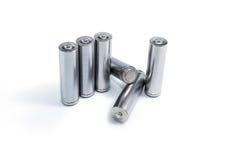 Aa-batterijen Stock Afbeelding