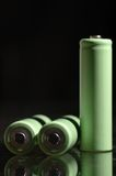 AA battery Stock Photo