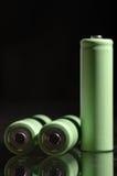 AA battery. It is AA size battery Stock Photo