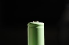 AA battery. It is AA size battery Royalty Free Stock Photography