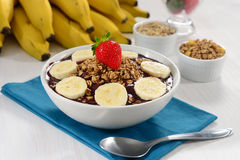 Açaí bowl Royalty Free Stock Images