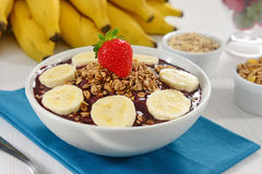 Açaí bowl Royalty Free Stock Photography