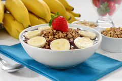 Açaí bowl Stock Photo