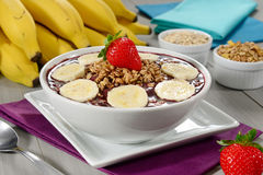 Açaí bowl Royalty Free Stock Image