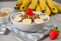 Açaí bowl Royalty Free Stock Photo