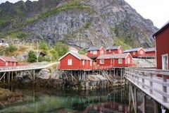 Aa em Lofoten Imagem de Stock Royalty Free