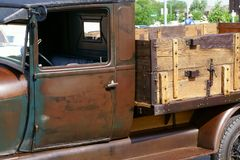 AA 1929 Ford Delivery Truck Foto de Stock