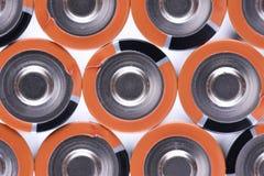 Aa-format för alkaliska batterier Royaltyfri Foto