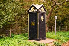 AA PHONE BOX Royalty Free Stock Images