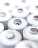 AA rechargeable batteries Stock Photography