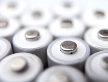 AA rechargeable batteries Stock Images