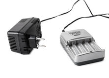 AA sized Battery charger Stock Photography