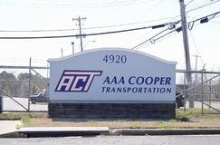 AAA木桶匠运输,孟菲斯, TN 库存照片