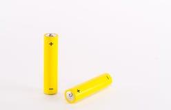 aaa-batteri Royaltyfri Bild