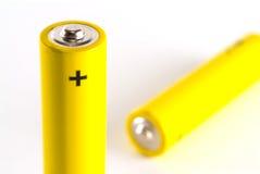aaa-batteri Royaltyfria Foton