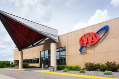 AAA Building and License Service Center Royalty Free Stock Images