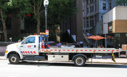AAA Flatbed Tow Truck. Stock Photography