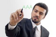 Aaa-Kreditnote Lizenzfreie Stockbilder