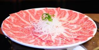 AAA+ Rippeaugen-Steak Scheibe Stockfotografie