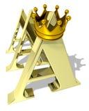 aaa-värdering Royaltyfri Bild