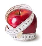 Aaape vermelho com medição da costura Fotografia de Stock