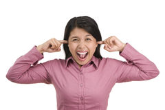 Aaargh.. so noisy Stock Image