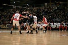 AaB Handball - Aarhus GF (29-23) Royalty Free Stock Images