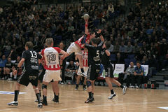 AaB Handball - Aarhus GF (29-23) Stock Images