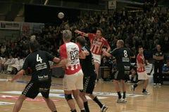 AaB Handball - Aarhus GF (29-23) Royalty Free Stock Photos