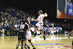 AaB Handball - Fredericia HK Royalty Free Stock Image