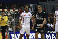AaB Handball - Fredericia HK Royalty Free Stock Photography