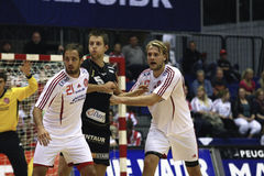 AaB Handball - Fredericia HK Stock Images