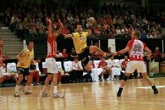 AaB Handball - GOG Svendborg TGI Stockfoto