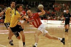 AaB Handball - GOG Svendborg TGI Lizenzfreie Stockfotografie