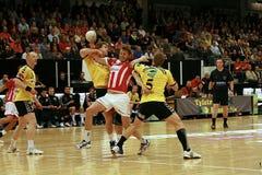 AaB Handball - GOG Svendborg TGI Royalty Free Stock Photos